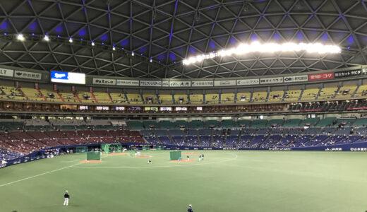 野球観戦は「中継で観る」、「球場に行く」のとどっちが楽しい?球場観戦の注意点も書いてみた!